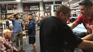 ((Must See)) Brandon Rios Back At RGBA Gets Ready For Next Fight! esnews boxing