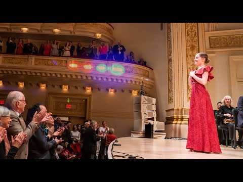 Siren Sounds Waltz By Alma Deutscher, Carnegie Hall, Dec 2019