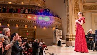 Siren Sounds Waltz by Alma Deutscher, Carnegie Hall, Dec 2019