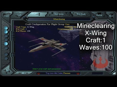 X-wing vs. TIE Fighter - Mineclearing - X-Wing  