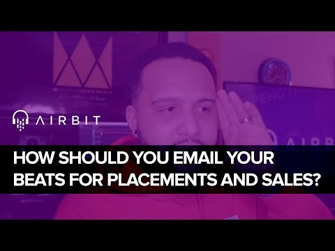 How You Should Email Your Beats For Placements and Sales!