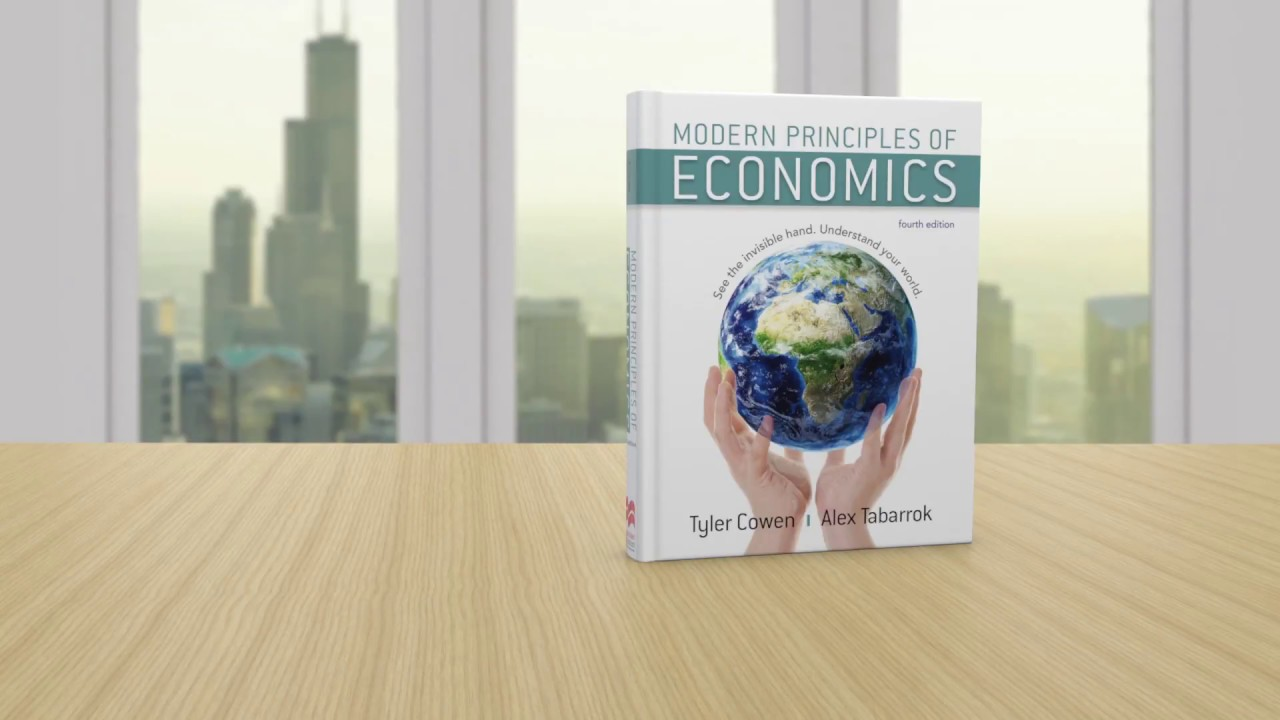 Cowen Tabarrok Modern Principles Of Economics 4e Youtube