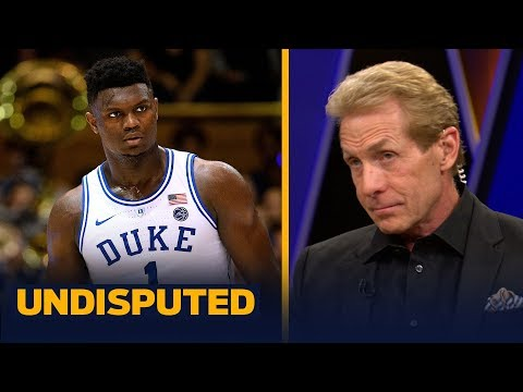 Skip Bayless: It's too soon to put Zion Williamson in the LeBron or KD category | CBB | UNDISPUTED