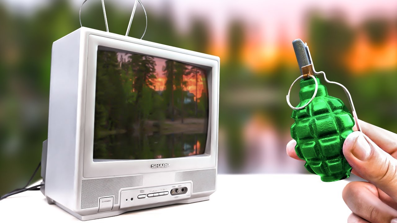 EXPERIMENT: BIG FIRECRACKER vs TV