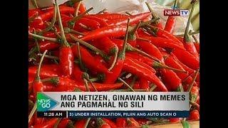 NTG: Mga netizen, ginawan ng memes ang pagmahal ng sili
