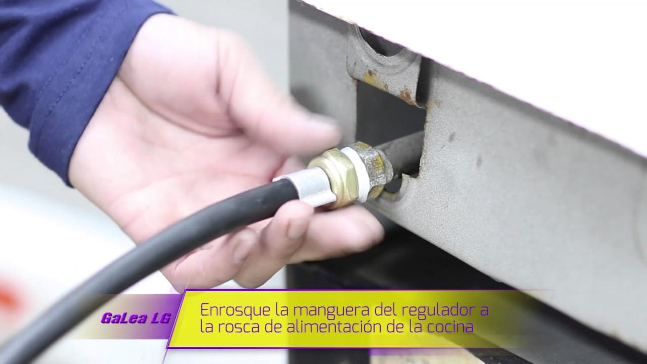 Instalaci n regulador de gas para garrafa youtube - Regulador de gas ...