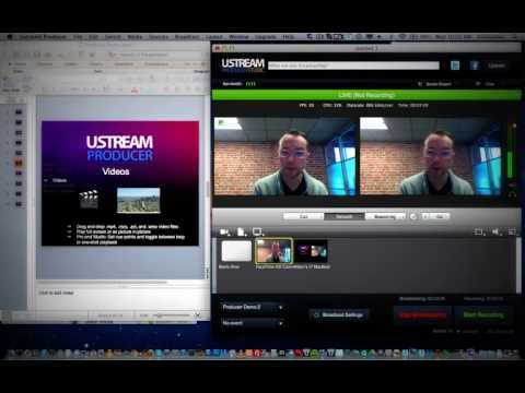 Ustream Producer  Download the free video streaming desktop application  Broadcast from PC, Mac  Tra