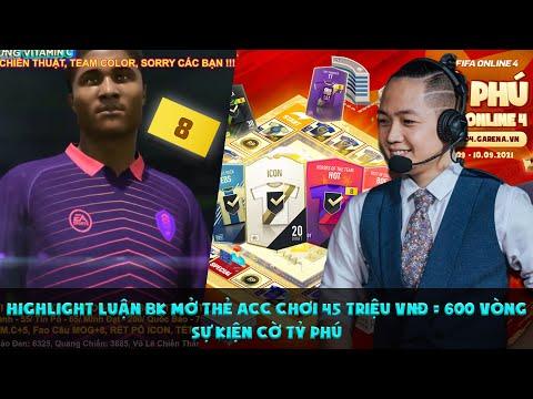 [FO4] Highlight Luận BK mở thẻ acc chơi 45 triệu VNĐ = 600 vòng sự kiện Cờ Tỷ Phú