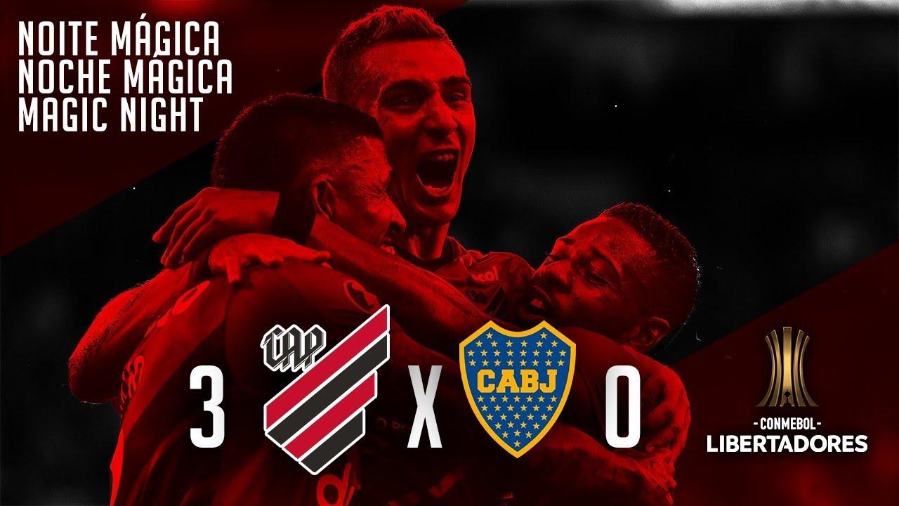 Noite Mágica - Athletico 3 vs. 0 Boca Juniors [LIBERTADORES 2019]