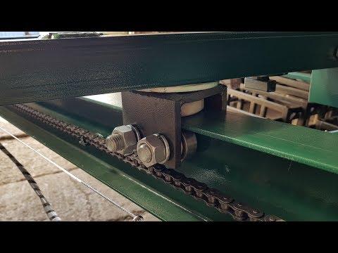 Кран-балка с цепным приводом для вездехода ЗИЛ-131