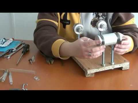 STIRLING ENGINE Step by Step Building Guide Instructions Free Energy from Fire Sterling Make