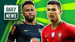 Cristiano Ronaldo bombt! Neymar fällt aus! Buffon verlässt PSG! Onefootball Daily News