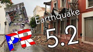 Videos EARTHQUAKE 5.2 Puerto Rico July 3 2020 🇵🇷 Videos Terremoto 5.2 Puerto Rico #earthquake