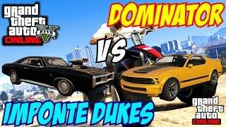 GTA 5 PS4 - Imponte Dukes Vs Dominator | #103 (GTA V)