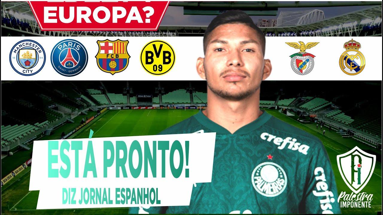RUMO À EUROPA? • Jornal Espanhol fala: Rony pronto parar jogar na Europa.