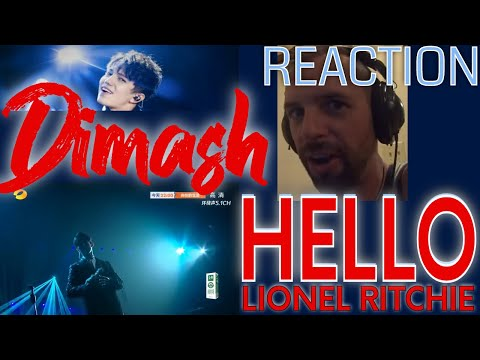 DIMASH - HELLO - Singer 2018 - Rock Musician REACTION