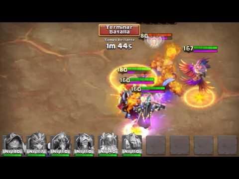 Castle Clash NEW BOSS 5 EASY (Castillo Furioso Nuevo Boss 5 Fácil)