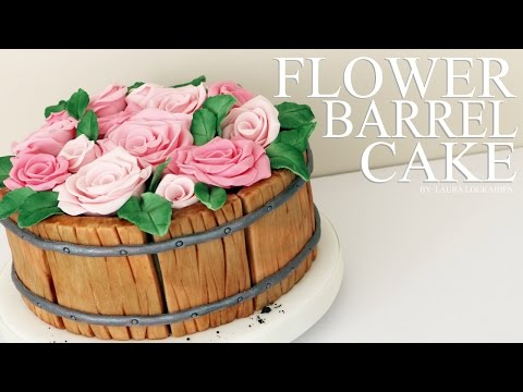 how-to-make-a-flower-barrel-cake---laura-loukaides