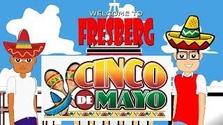 Cinco De Mayo for Kids (Cartoons Online, Educational Video for Children)