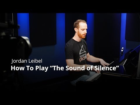 "How To Play ""The Sound Of Silence"" by Simon & Garfunkel - Piano Lesson (Pianote)"
