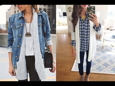 78d531c5c9 20 Style Tips On How To Wear Long Cardigans This Winter - YouTube