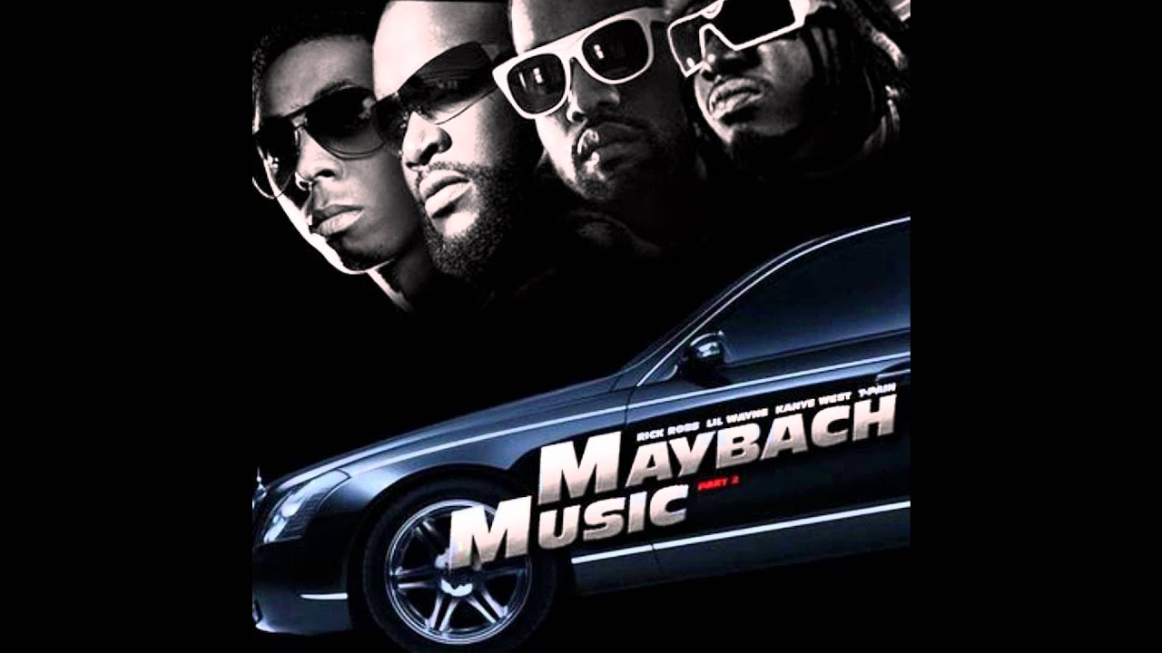 Rick Ross Maybach Music pt 2 ft T Pain, Kanye west, Lil wayne slowed