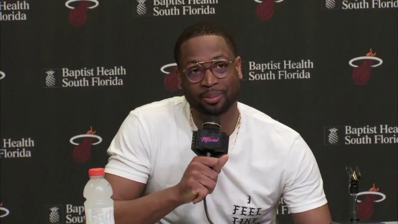 Dwyane Wade on his return to Heat: The jersey and the colors fit | ESPN