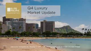 Hawaii Luxury Real Estate Report Q4-2019, Elite Pacific Properties