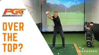 Do you swing over the top? - Golf Drills