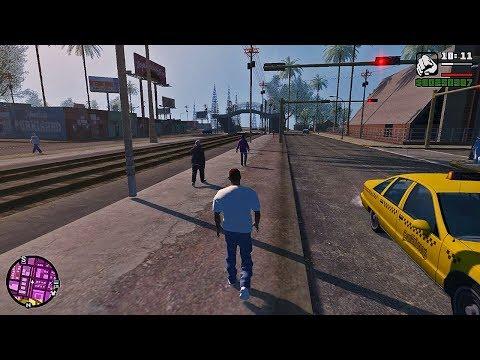 Обновление Новой GTA San Andreas!