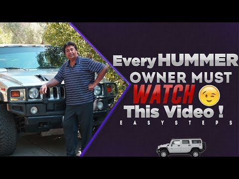SOLVED – How To Fix Unknown Driver Error on HUMMER H2
