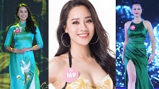 Nguyễn Hoàng Bảo Châu - SBD 169 - Tổng hợp phần thi Áo Dài - Bikini - Dạ Hội Hoa Hậu Việt Nam 2018