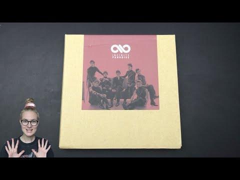 Unboxing Infinite 인피니트 1st Korean Studio Album Repackage Paradise