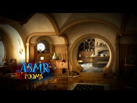 Waking Up In Hobbit Home - Lord Of The Rings Inspired ASMR - Bag End Ambience And Animations - HD