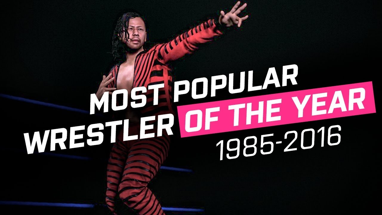 Every Most Popular Wrestler of the Year 1985-2016 | WWE 2K17 / WWE 2K18