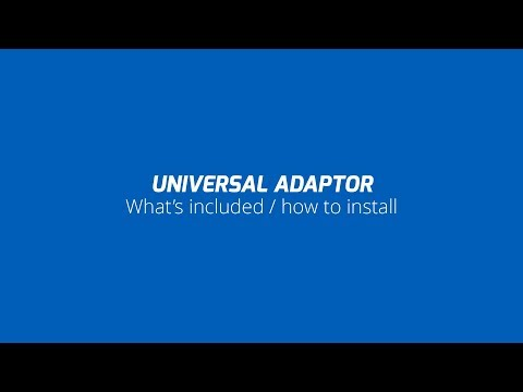 Quad Lock How To - Universal Adaptor