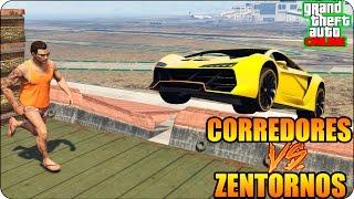 ¡¡CORRE O TE APLASTO!!   RUNNERS VS ZENTORNOS   GTA V ONLINE