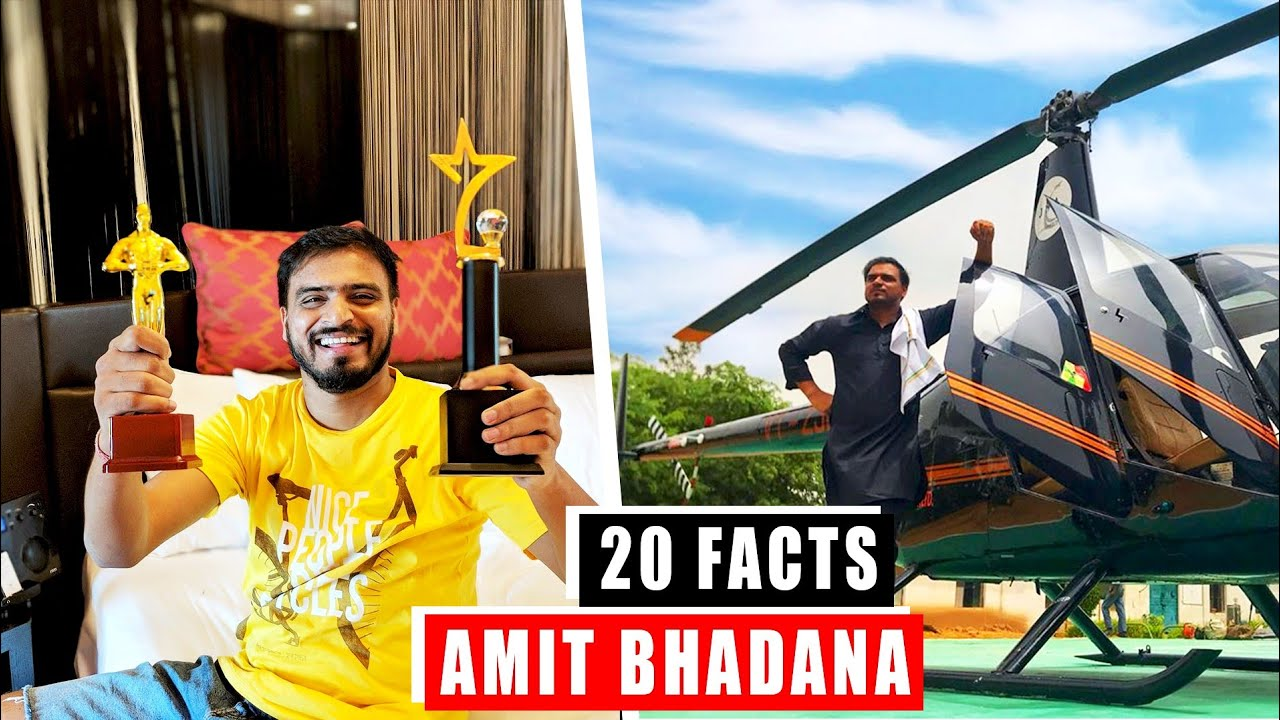 20 Facts You Didn't Know About Amit Bhadana | Amit Bhadana