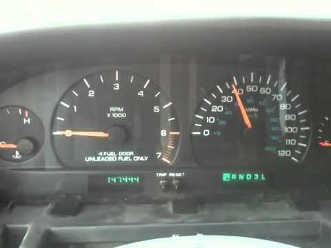 1998 Dodge Caravan Dash Problem Youtube