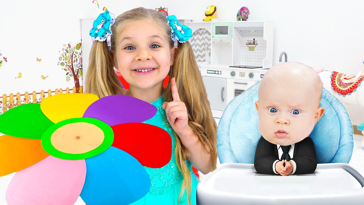 Diana and Roma New Funny Stories for kids with brother Oliver