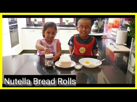 Nutella Bread Rolls By Our Little Chefs