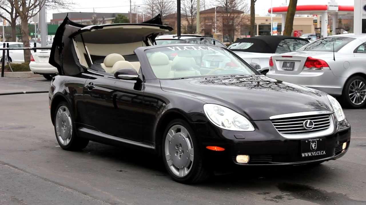 2008 lexus sc430 review