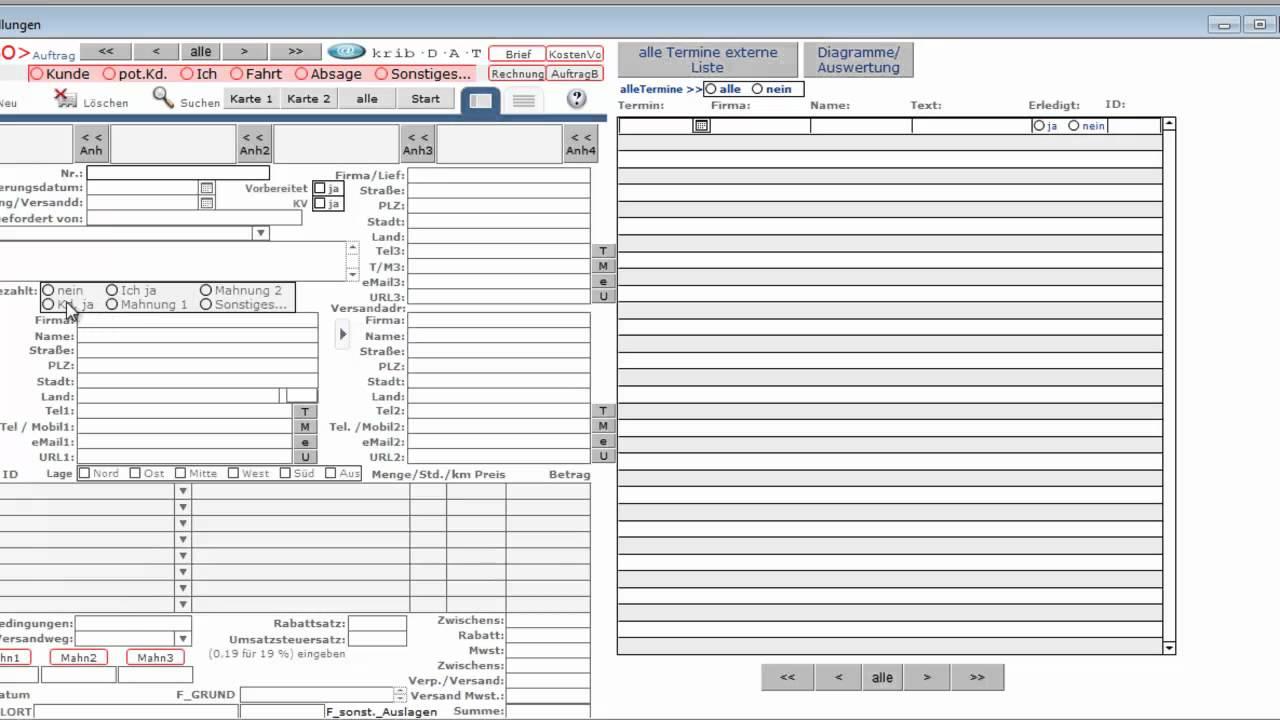Büro Software Kundenverwaltung Rechnungen Apple Macos Windows Cloud