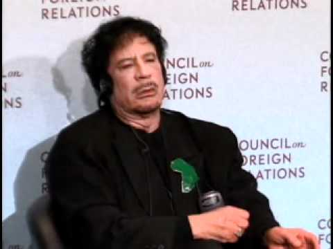 New York Meeting: Muammar al-Qaddafi