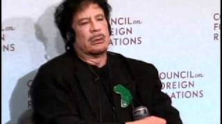 New York Meeting: Muammar al-Qaddafi