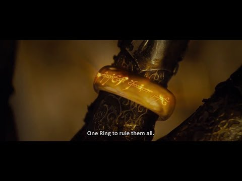 One Ring to Rule Them All...(The Lord of the RingsThe Fellowship of the Ring)