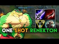 SoloRenektonOnly ONE SHOT RENEKTON BUILD LoL Best Moments