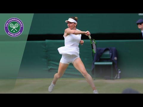 Simona Halep Vs Elina Svitolina Wimbledon 2019 Semi-final Highlights