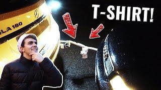 Kann man ein AUTO mit einem T-SHIRT abschleppen? 🚗