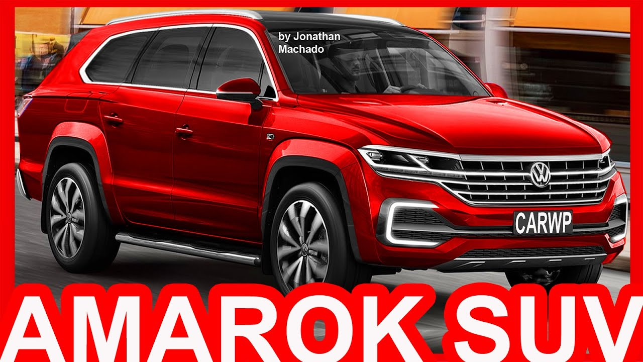 4K PHOTOSHOP New 2018 Volkswagen Amarok SUV #AMAROK - YouTube